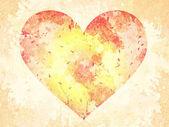 Abstract Grunge Herz