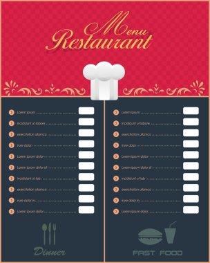 Restaurant Menu Vector Design