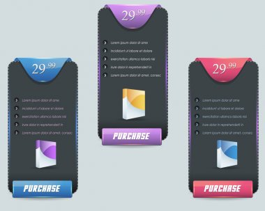 Web Banner Template Vector Design Set