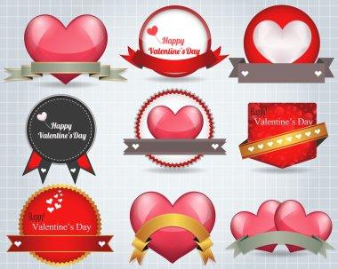 Valentine's day design stock vector