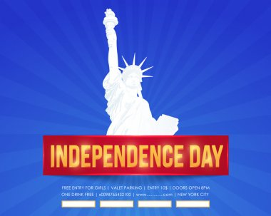 United States of America 4th of July Happy Independence Day