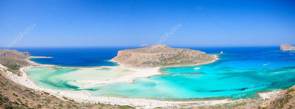 Crete lagoon Balos