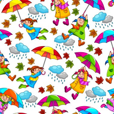 Umbrellas pattern