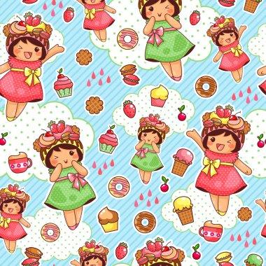 happy sweet pattern