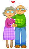 Fotografie Seniorenpaar