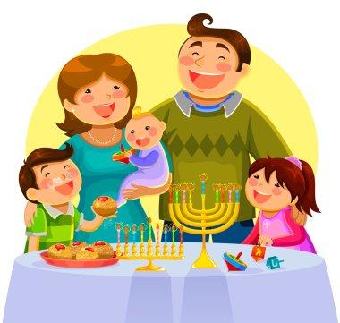 Hanukah celebration