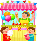 Fotografie Candy-stall