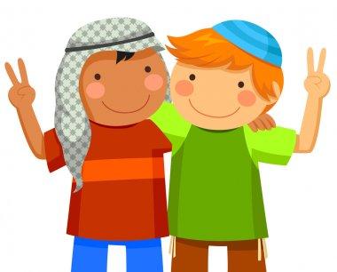 Kids making peace
