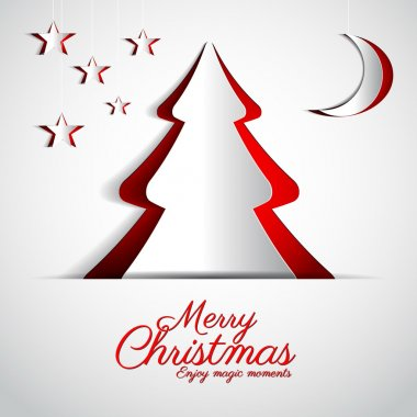 Merry Christmasgreeting card