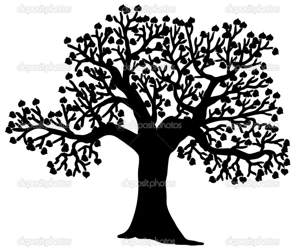 Vector Illustration Tree: Stock Vector © Connynka #17006411