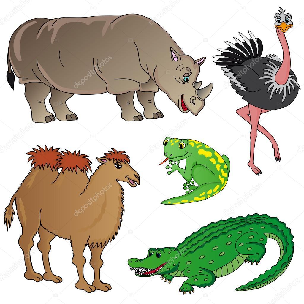 Wild animals collection 02