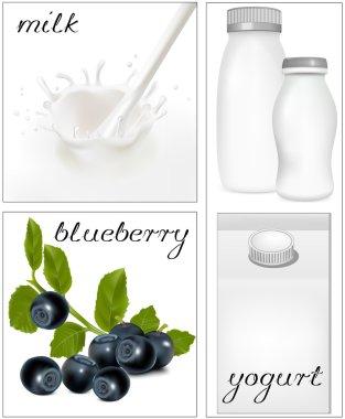 Design of packing milk dairy.