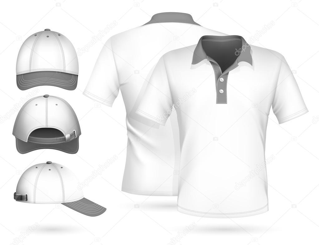 Polo shirt design vector - Men Polo Shirt Design Stock Vector 33524519
