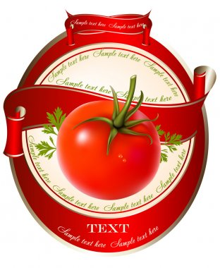 Illustration of tomatoes.