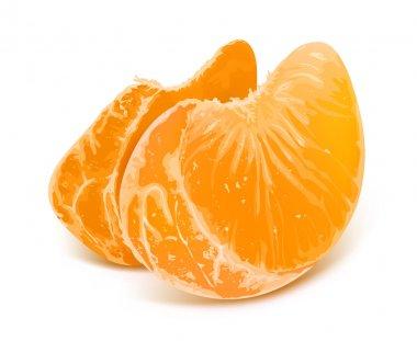 Illustration of tangerine slices