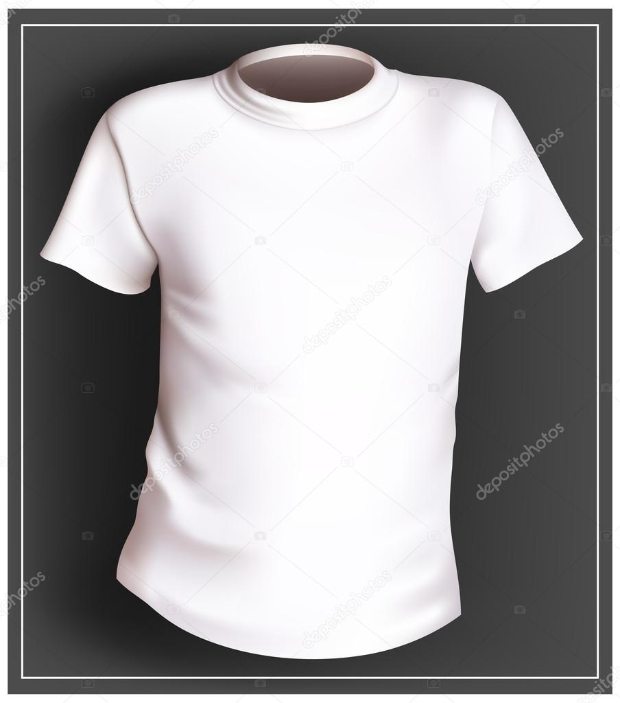 Vector De Blanca Camiseta — Stock 8rT8dqwR