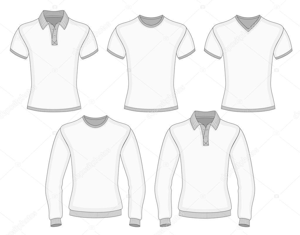 Herren Polo-Shirt und t-shirt — Stockvektor © ivelly #41248505