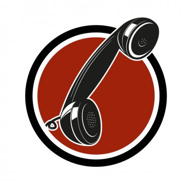 Retro phone sign