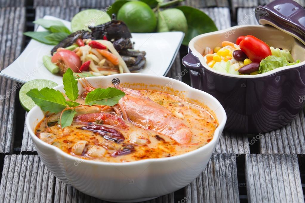 thailand food Tom Yum Goong