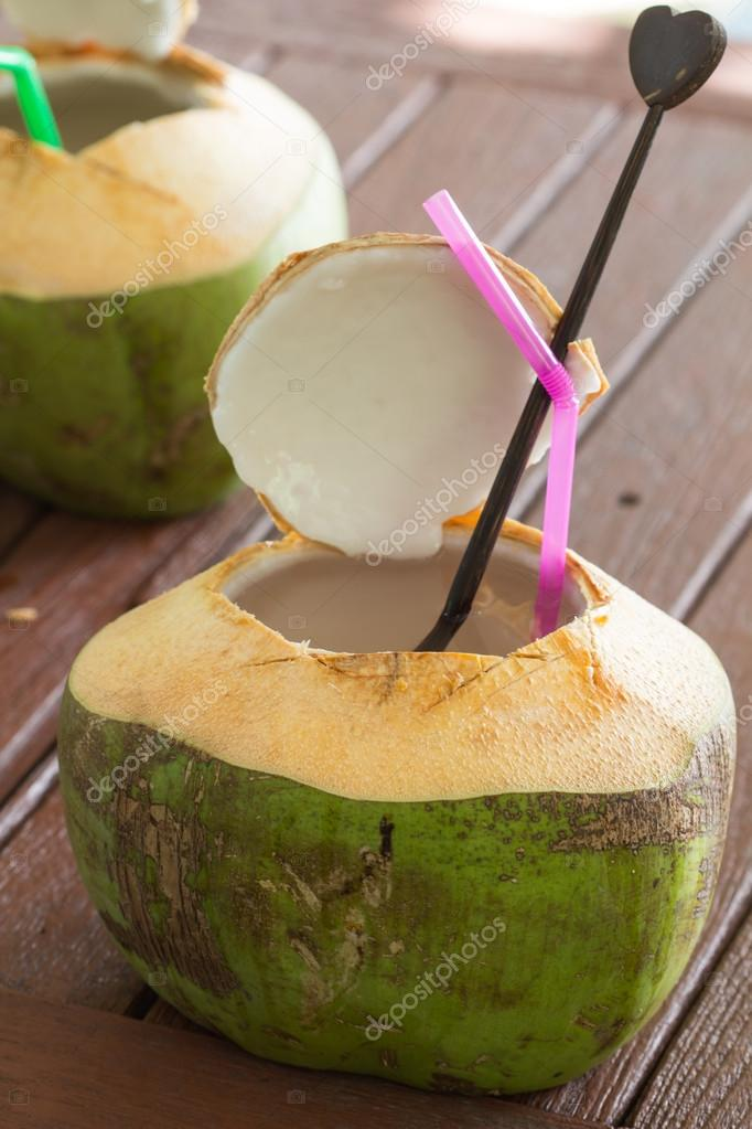 coconut water drink