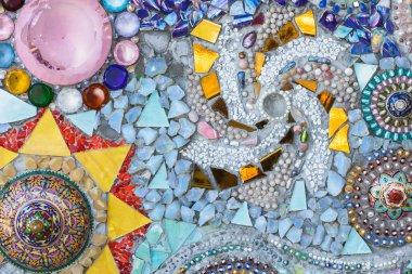 Beautiful Crystal tiles texture