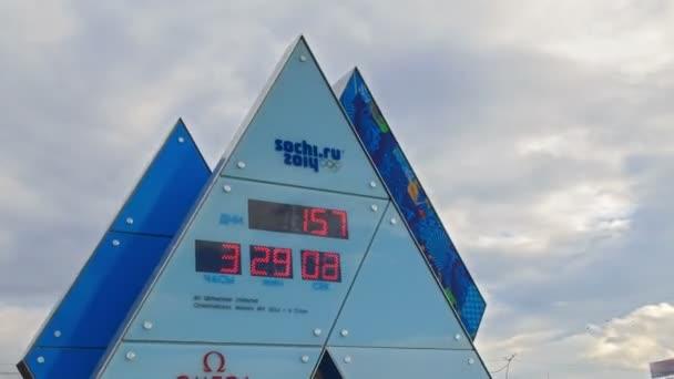 hodiny olympijské hry v Soči 2014. časová prodleva