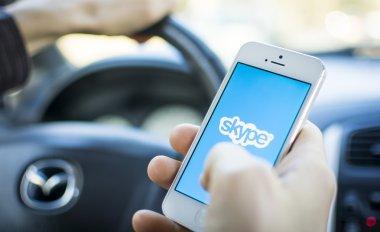 Skype on smart phone