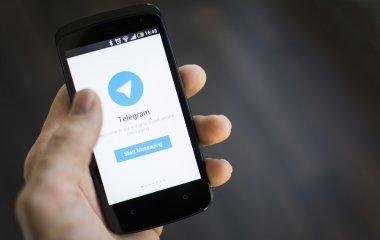 Telegram mobile application