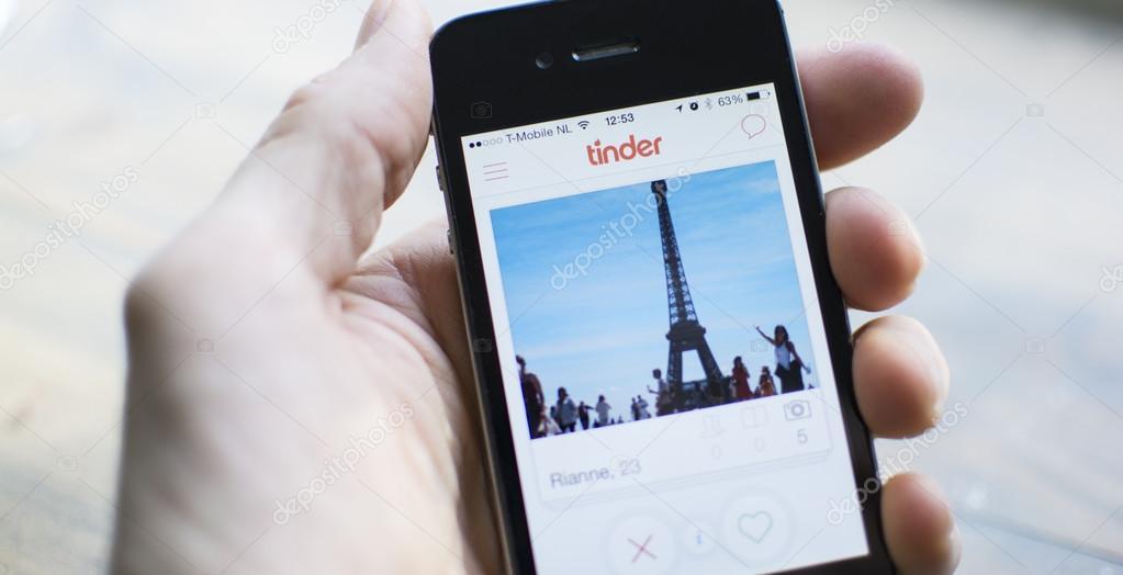 Tinder mobile app