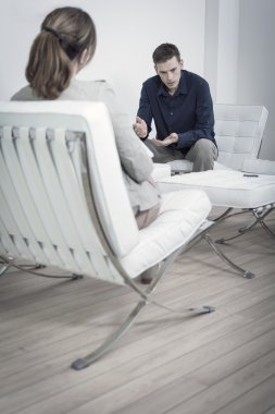 Session with Psychiatrist