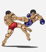 Photo Muay thai. Martial art