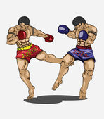 Photo Muay thai. Martial art