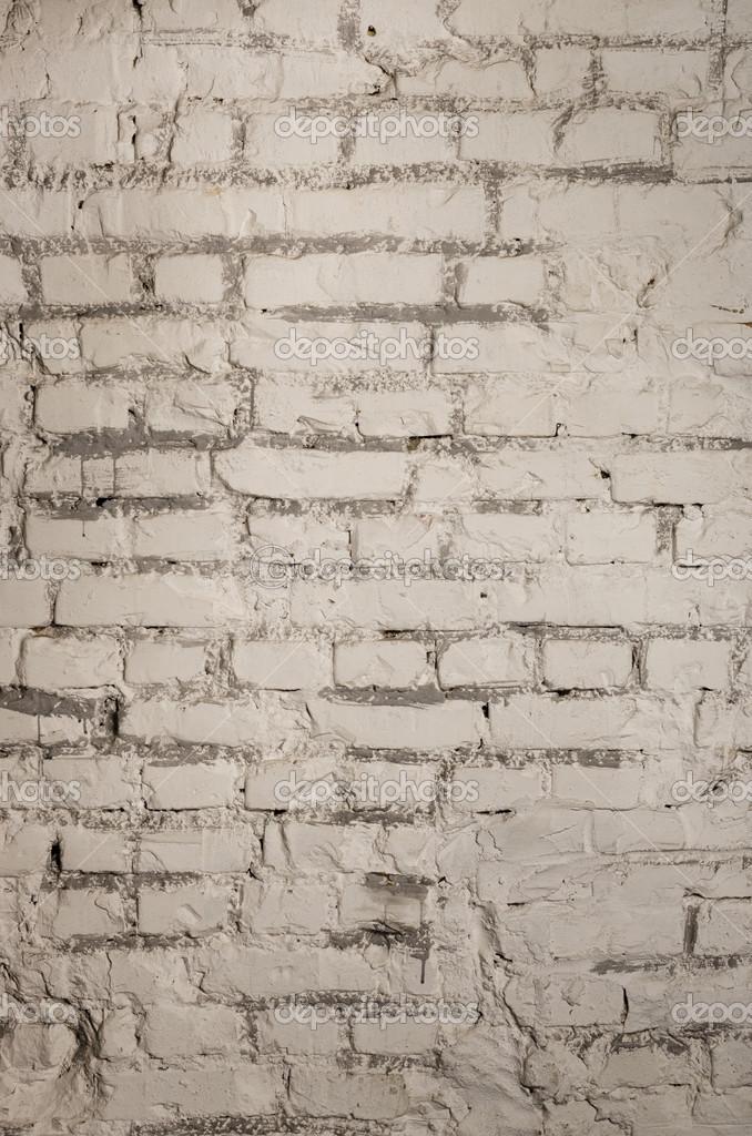 Parete in blocchi di mattoni bianchi — Foto Stock © santiss #22842292