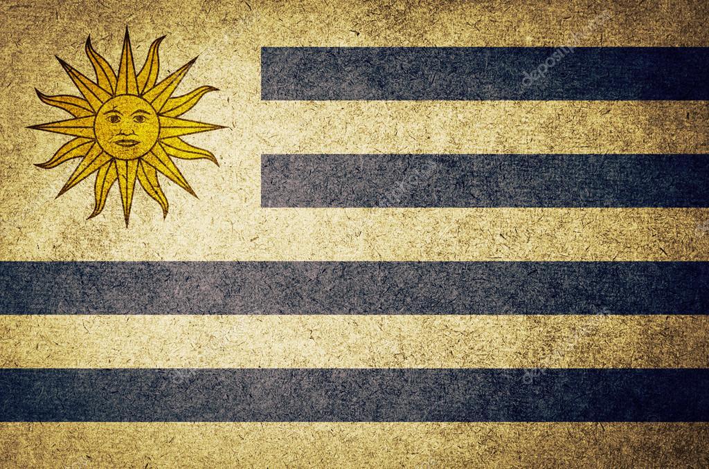 фото флаг уругвая