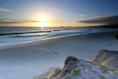 Sunset in Half Moon Bay, California