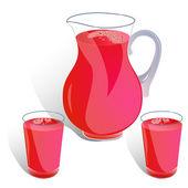 Jug of juice