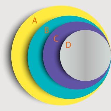 round infographics