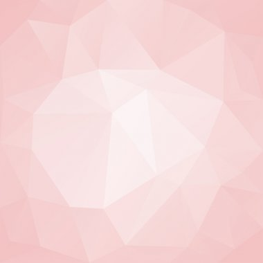 Pink abstract background polygon.
