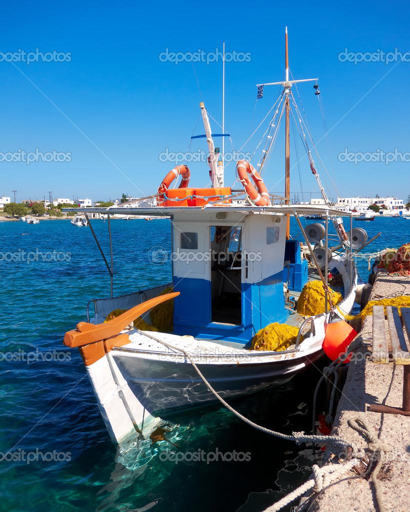 bateau de peche grec