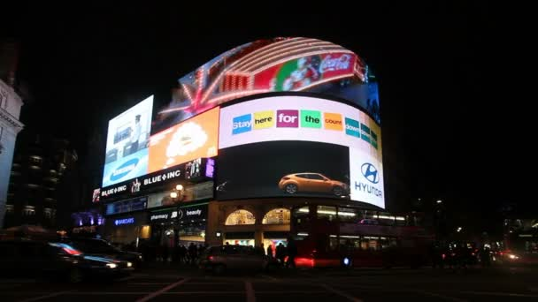 Neon Lights at Piccadilly Circus