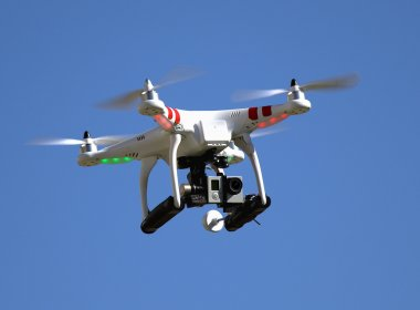 Camera for aerial photography