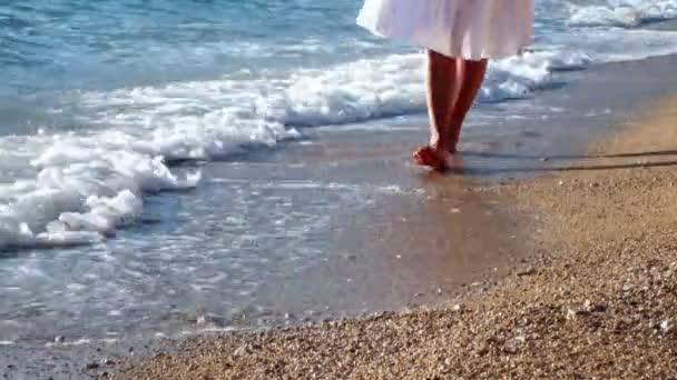 šlápnutí na písku