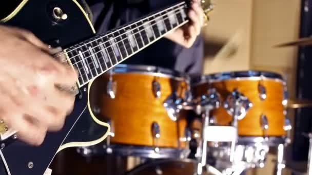 gitár és a dob