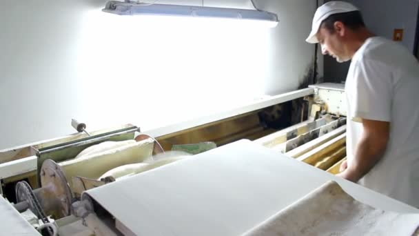 bochníky chlebadělník ve výrobě chleba