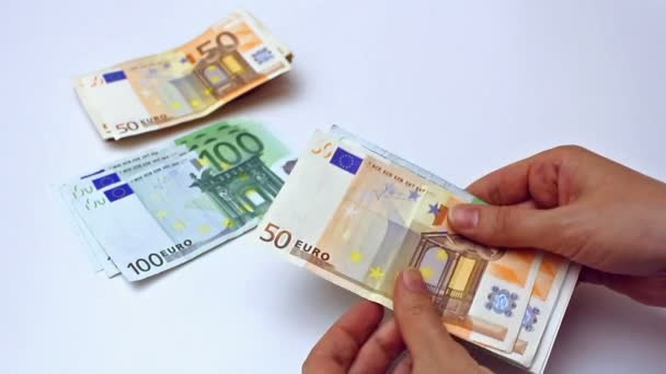 počítání bankovek