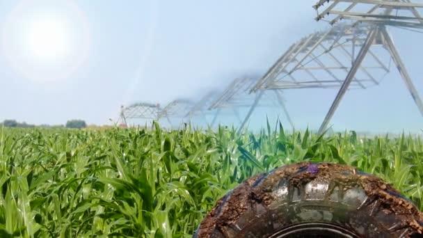 farma zavlažování