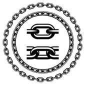 Chain seamless silhouettes