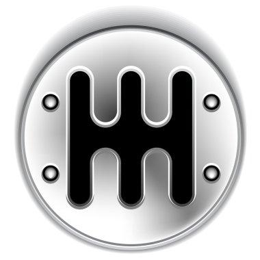 manual chrome gear shifter