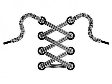 shoe lace symbol
