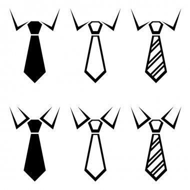 tie black symbols